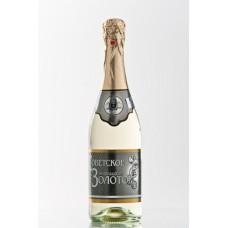 """Dzirkstošais vīns """"Sovetskoje Zolotoje"""" 0.75L 10.5% pusalds balts"""
