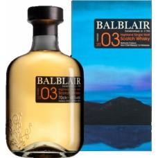 "Viskijs ""Balblair 2005 Vintage""0.7L 46%"