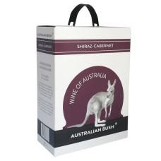 "Vīns ""Australian Bush Shiraz/Cabernet sauvignon"" 13% 3L sauss sarkans"