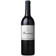 """Vīns """"BPHR Bordeaux Rouge"""" 12% 0.75L sauss sarkans%"""