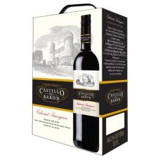 """Vīns """"Castillo del Baron Tinto"""" 12% BIB 3.0L pussalds sarkan%"""