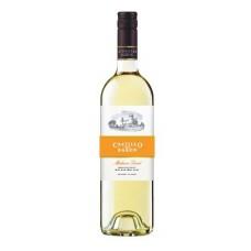 """Vīns """"Castillo del Baron White"""" 11% 0.75L pussalds baltvīnī%"""