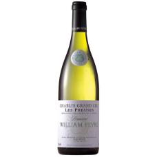"""Vīns """"William Fevre Les Preuses Chablis"""" 13% 0.75L sauss balts"""