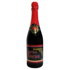 Dz.vīns Sovetskoje Krasnoje pussalds rozā 75l 10%%