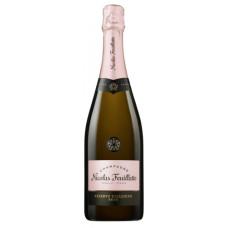 """Šampanietis """"Nicolas Feuillatte Res.Rose Brut"""" 12% 0.75l sauss rozā%"""