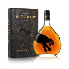 """Konjaks """"Meukow VS TIN Box"""" 40% 0.7L"""