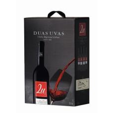 """Vīns """"2U Duas Uvas Tinto BIB""""  13.5% 3L sauss sarkanvīns%"""