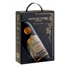 """Vīns """"Antiche Terre Solo Passione Rosso"""" 13.5% 3.0L sauss sarkans"""