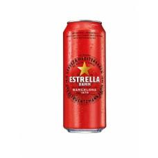 "Alus ""Estrella Damm Barcelona"" 4.6% 0.5L skārdene"