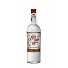 "Rums ""Old Captain Extra Dry White Rum"" 37.5% 1L"