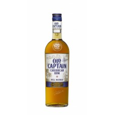 "Rums ""Old Captain Well Matured Brown Rum"" 37.5% 1L"
