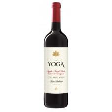 "Vīns ""Yoga Syrah Nero d Avola Cabernet Sauvignon Org."" 14% 0.75L sauss sark"