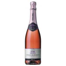 """Dz.Vīns """"Dulong Cremant Bordeaux Brut Rose"""" 11.5% 0.75L sauss rozā"""