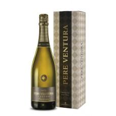 "Dzirkstošais vīns ""Pere Ventura Tresor Cuvee Gr. Reserva + GB"" 11.5% 0.75L"
