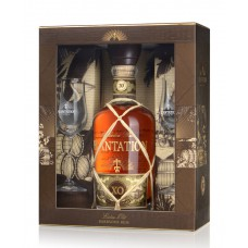 "Rums ""Plantation Barbados XO + glāzes"" 40% 0.7L"
