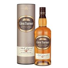 """Viskijs """"Glen Turner 12 YO Single Malt"""" 40% 0.7l"""