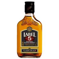 """Viskijs """"Label 5 Classic"""" 40% 0.2l"""