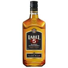 """Viskijs """"Label 5 Classic"""" 40% 0.5l"""