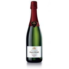 """Dzirkstošais vīns """"Mas Pere Cava Brut Seleccion"""" 11.5% 0.75L"""