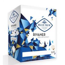 """Vīns """"Blue Nun Rivaner BIB"""" 9.5% 2.0L pussalds balts"""