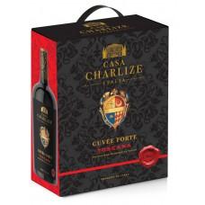 """Vīns """"Casa Charlize  Cuvee Forte Toscana Rosso IGT"""" 13.5% 3.00L sauss sark."""