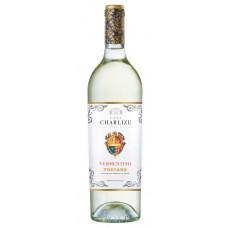 """Vīns """"Casa Charlize Vermentino Toscana IGT"""" 12% 0.75L pussauss balts"""
