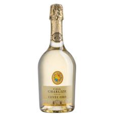 "Dzirkstošais vīns ""Casa Charlize Cuvee Oro Brut"" 11%  0.75L sauss balts%"