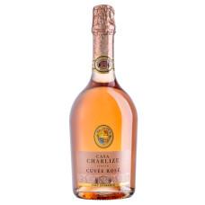 """Dzirkstošais vīns """"Casa Charlize Cuvee Rose"""" Brut 11 0.75L sauss rozā"""