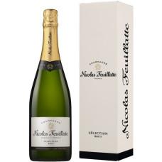 """Šampanietis """"Nicolas Feuillatte Selection Brut + GB"""" 12% 0.75l sauss balts%"""