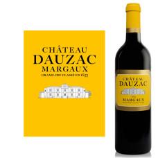"Vîns ""Labastide Dauzac 2016 Margaux"" 13.5% 0.75L sauss sarkans%"