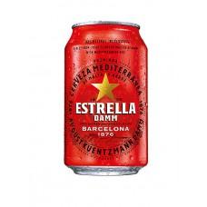 "Alus ""Estrella Damm Barcelona"" 4.6% 0.33L skārdene%"