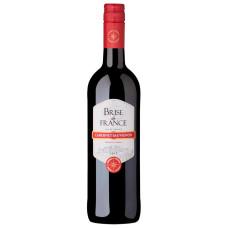 """Vīns """"Brise de France Cabernet Sauvignon"""" 13% 0.75L sauss sarkans%"""