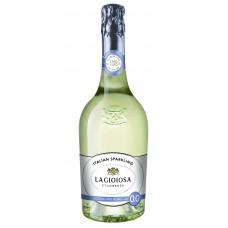 """Bezalk. Dz. vīns """"La Gioiosa Alcohol Free Sparkling"""" 00.75L pussalds balts"""