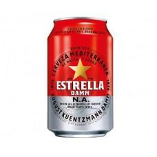 "Bezalk. alus ""Estrella Damm Barcelona "" 0.0 0.33L skārdene"
