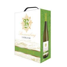 """Vīns """"Bronnenburg Weisswein Lieblich BIB"""" 10.5% 3.00L pussalds balts%"""
