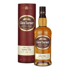 "Viskijs ""Glen Turner Heritage Double Cask Single Malt"" 40% 0.7l%"